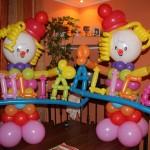 allestimento palloncini